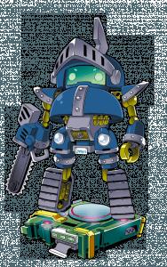 追加クラス『メカ』を使ったサンプルキャラクター『鋼鉄騎士』